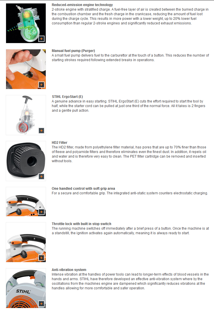 Stihl Bg 86 C E Machinery From Gustharts Uk Chainsaw Parts Diagram Oil Pump Free Engine Image For Reviews Be The First To Review