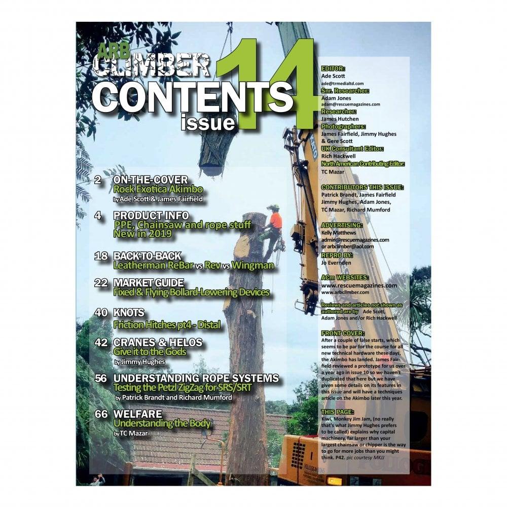 Arb Climber Magazine Issue 14