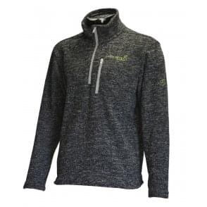 Wolf Half-Zip Knitted Fleece