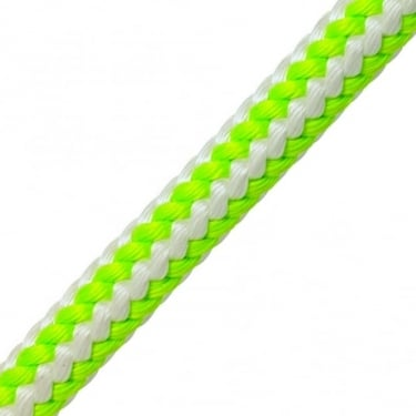 Braided Safety Blue UV Green Per Metre