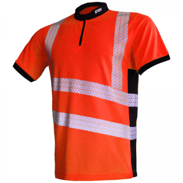 X25 VENTOUT Hi-Viz Short Sleeve Orange
