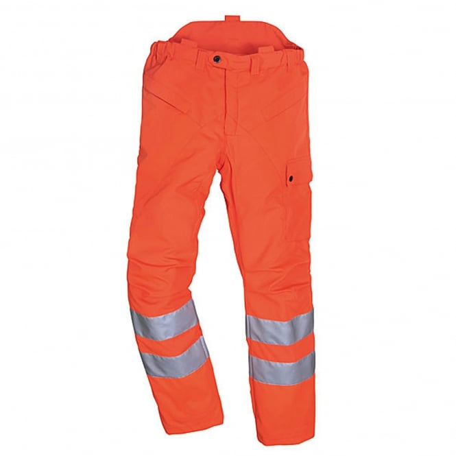 Stihl High Visibility GO/RT Chainsaw Trousers