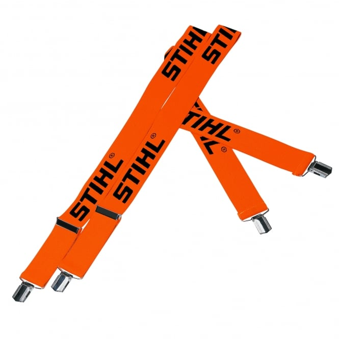 Stihl Orange Clip On Braces